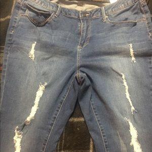 Women's jeans. Size 16
